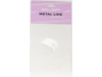 Metal line white 01