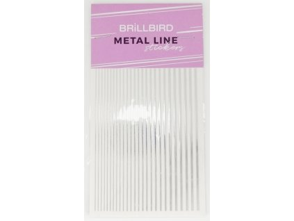 Metal line silver 01