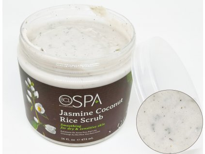 SPA59114 Jasmine Coconut Rice Scrub 473ml