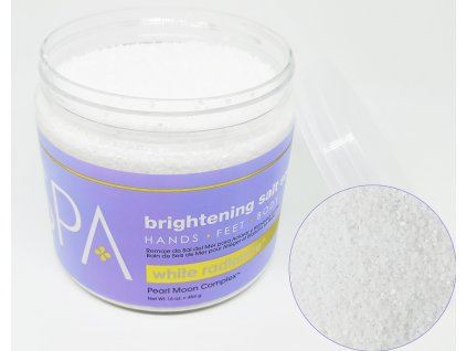 SPA55011 White Radiance Salt Soak 454g