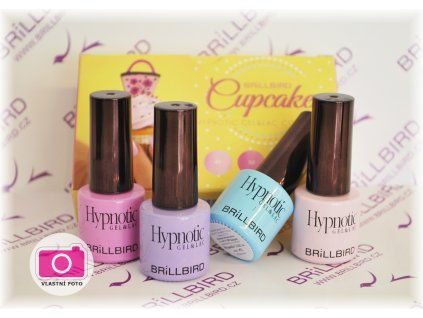 Hypnotic Cupcake set 4x4ml