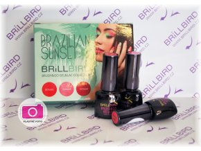Brazilian Sunset Brush&Go Gel&Lac set 3x5ml