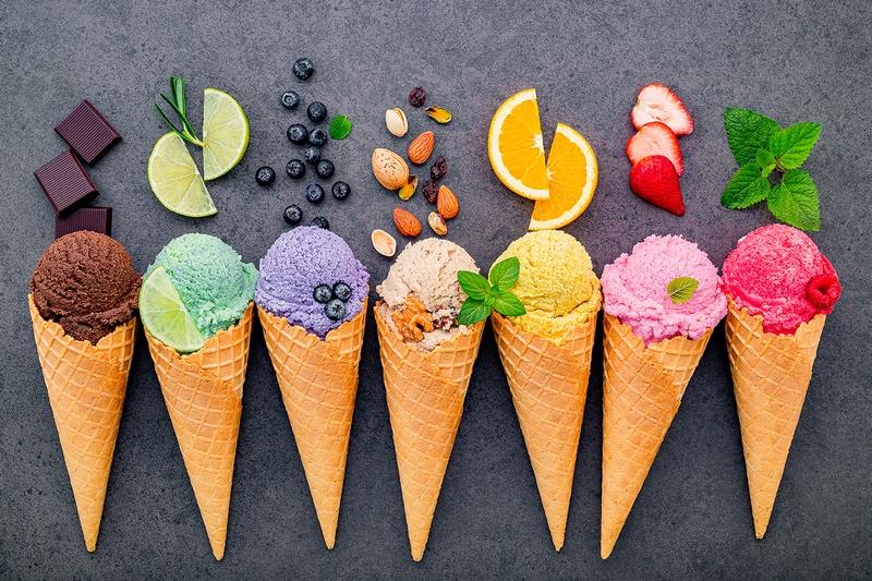 Kompletní čištění zmrzlinového stroje