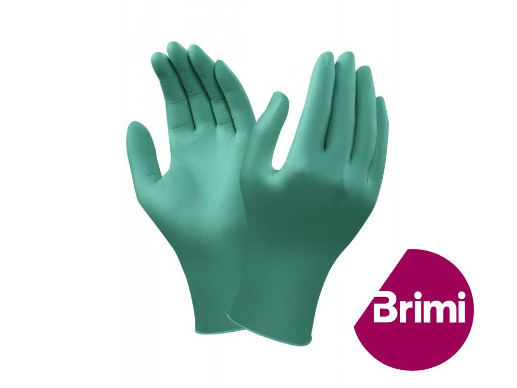 brimi rukavice zelene