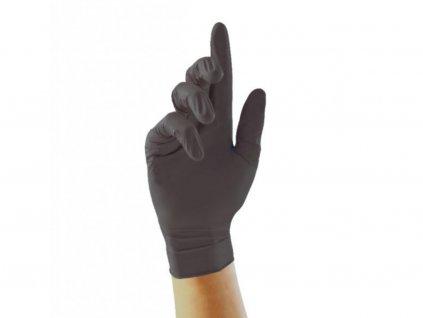 brimi rukavice cerne