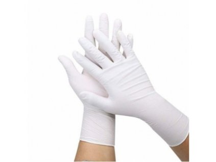 brimi rukavice nitril bile nepudrovane