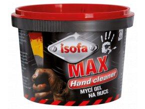 Isofa MAX mycí gel, dílenské mýdlo na ruce, abrazivní