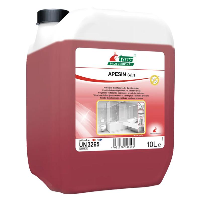 Apesin SAN dezinfekční čistič na povrchy bez chlóru z 1 l naředíte 65 l Objem: 10 l