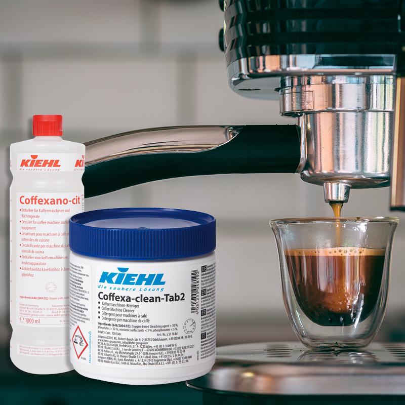 Balíček čištění a údržba kávovarů Coffexa čistící tablety do kávovaru a odvápňovače kávovaru