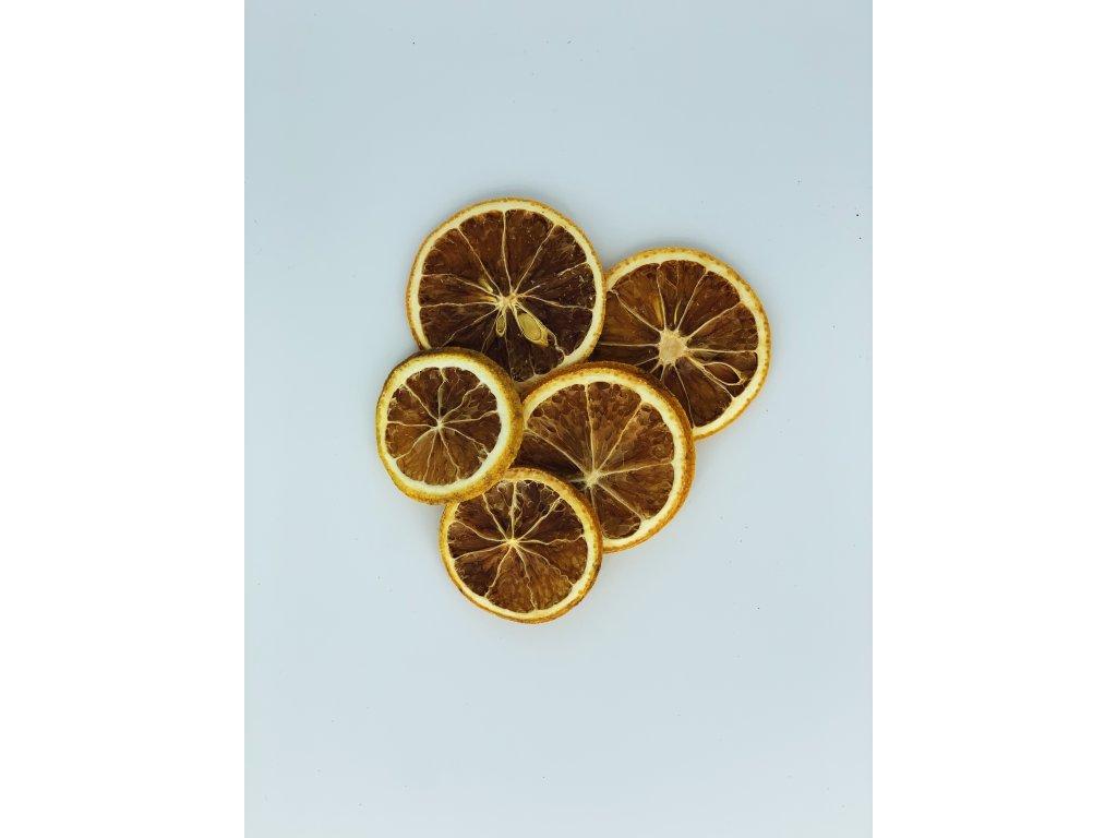 Dekorace sušené pomerančové plátky 5 ks1