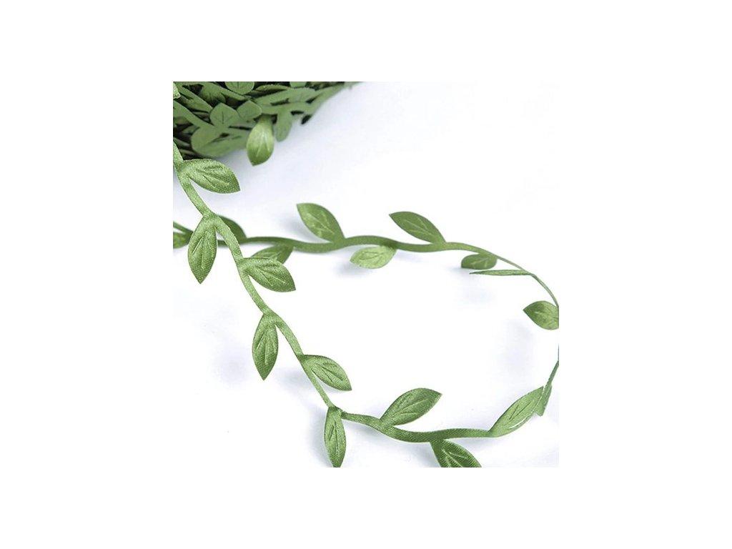 Stuha listy zelené