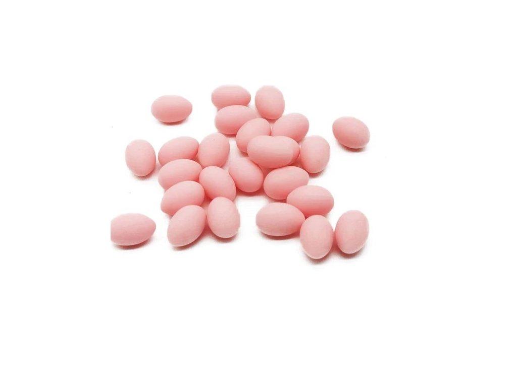 Vajíčko mini světle růžové 11mm