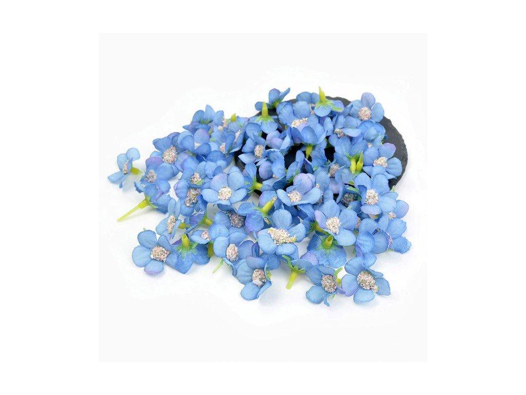 Kvítek modrý 1,5x2cm
