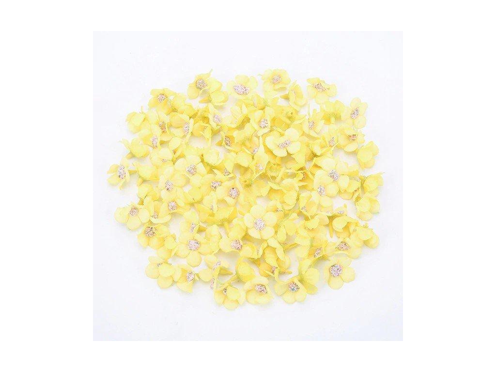 Kvítek žlutý 1,5x2cm