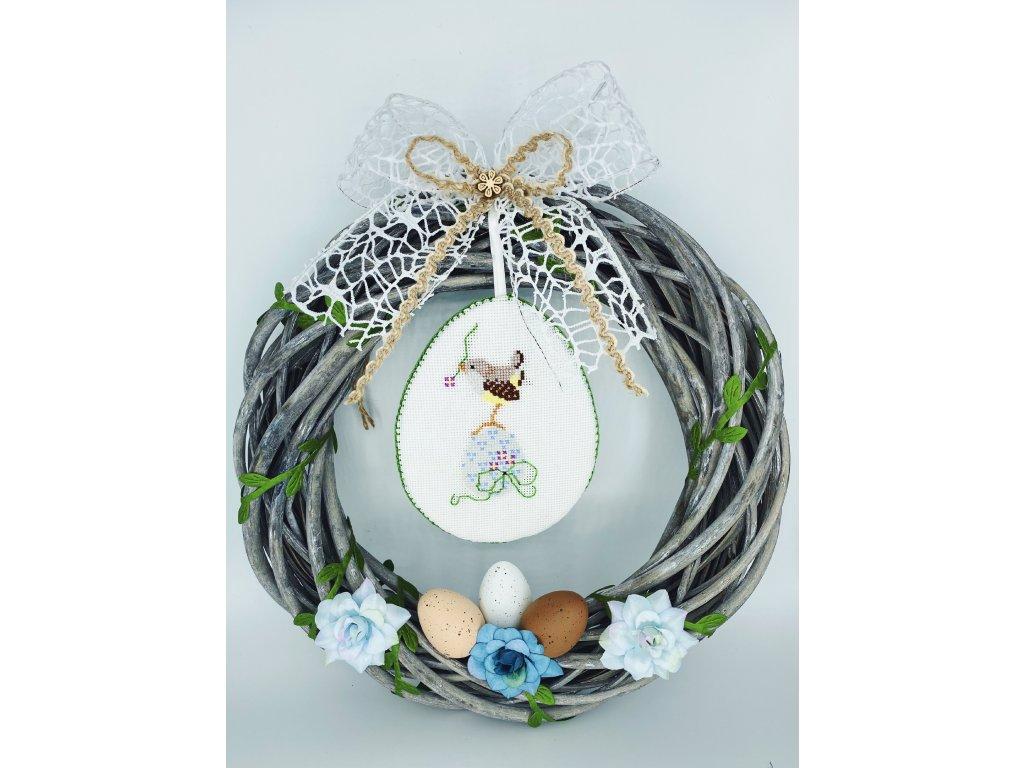 Věnec s vajíčky 1