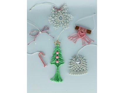 sada vánočních ozdob A3