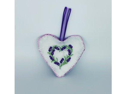 Srdce pro maminku Levandule 1