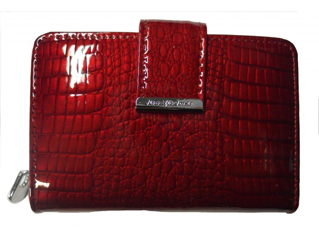 Peněženka dámská kožená červená V2