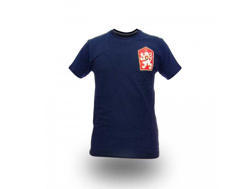 Pánské Tričko ČSSR Brixton Modré