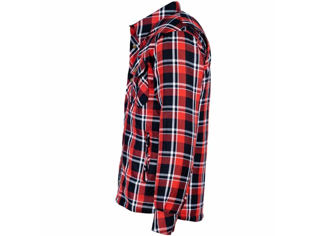 Pánská Kevlarová Košile S-TECH Brixton Červená
