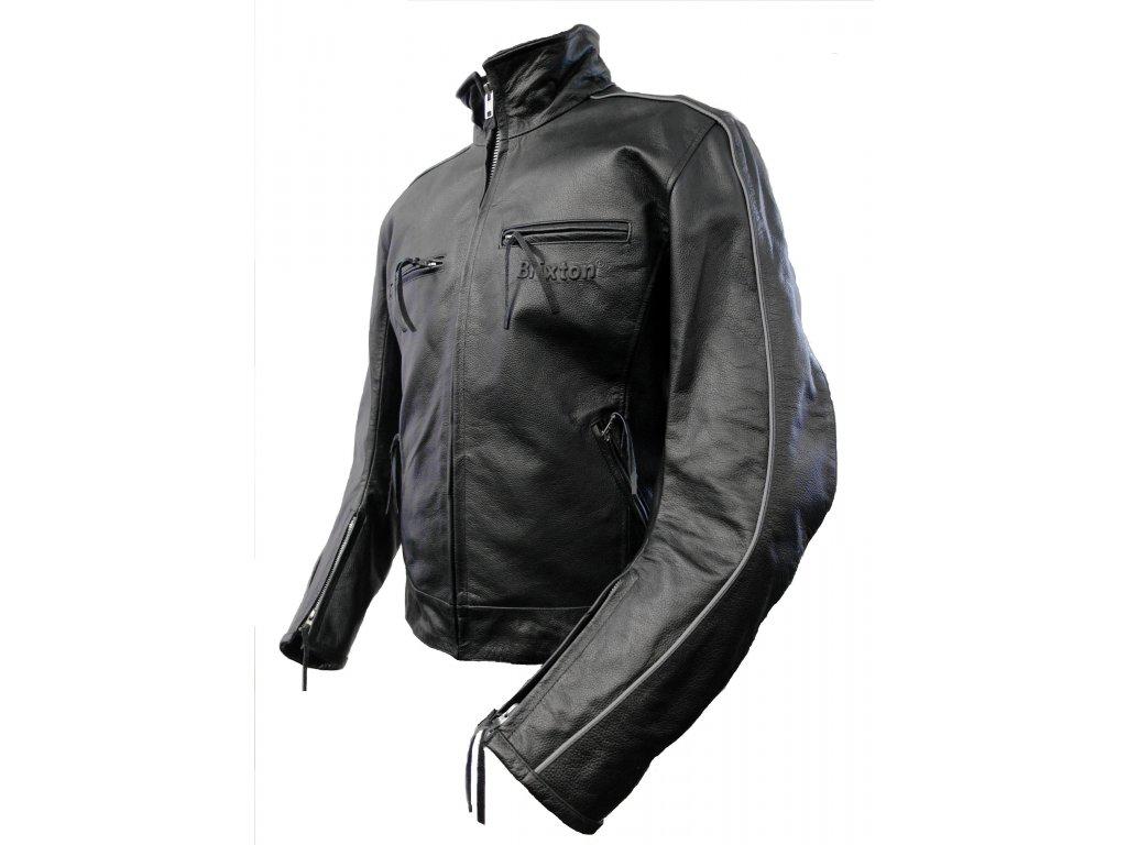 Pánská kožená bunda Indy černá