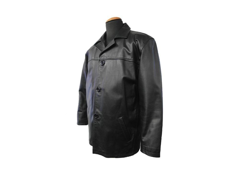 Pánské kožené sako Ben černá