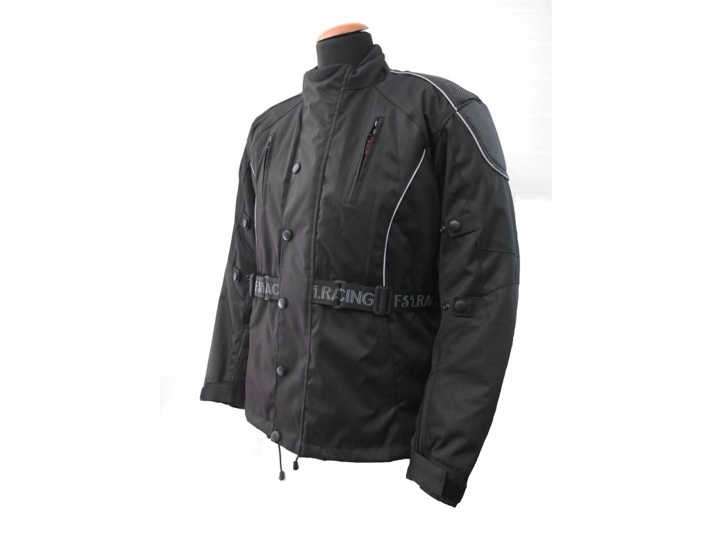 Pánská textilní bunda CD Lungo černá