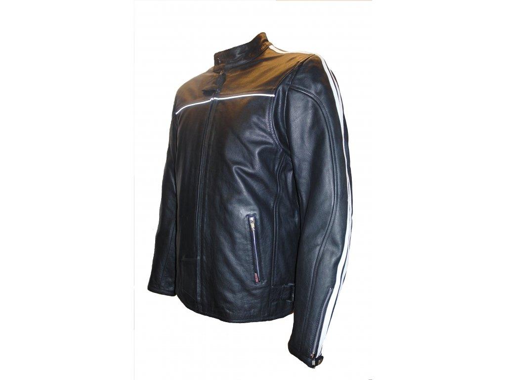 Pánská kožená bunda Palermo 2 černá