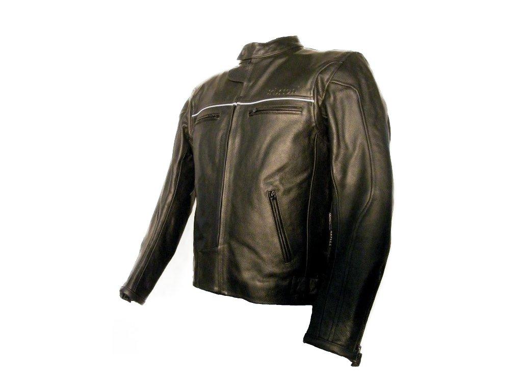 Pánská kožená bunda Palermo černá