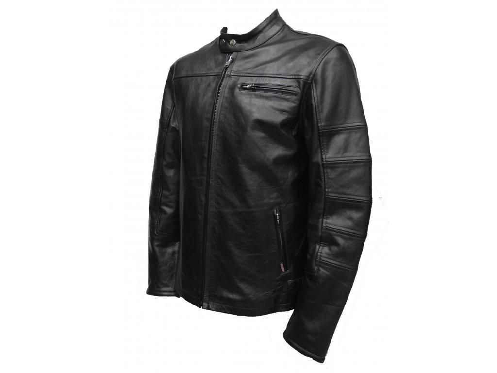 Moto bunda Ronnin, Brixton, černá