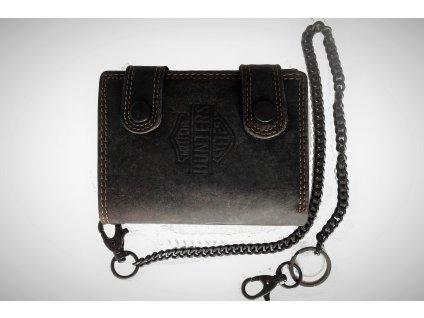 Kožená peněženka Hunters Brown