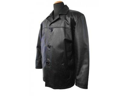 Pánské kožené sako Ben, Brixton, černé