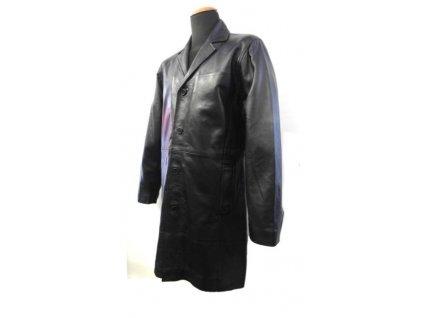 Pánský kožený kabát Brixton černá