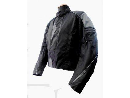 Pánská Textilní Moto Bunda CD 181 Černá
