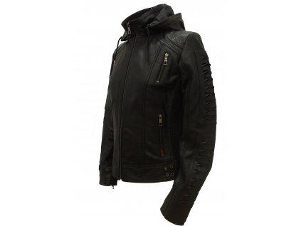 Dámská kožená bunda Morgana, Brixton, černá
