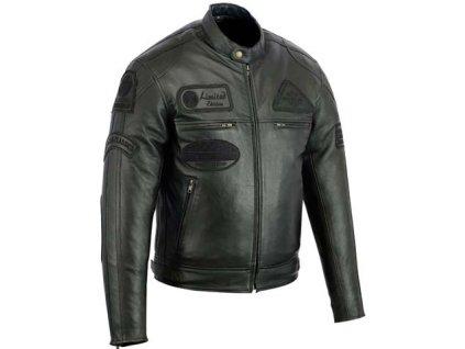 Pánská kožená bunda Classic Urban černá