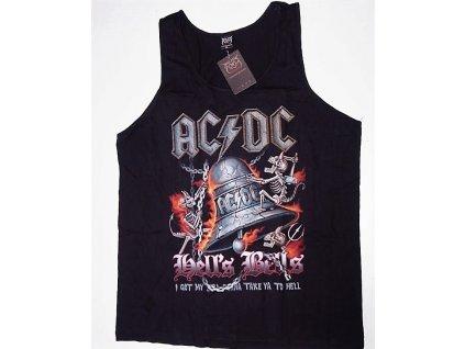 Pánské triko nátělník Rock Volution AC/DC, Brixton, černé
