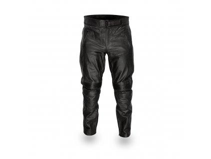 Pánské Kožené Kalhoty Moto T-Padded Brixton Černé