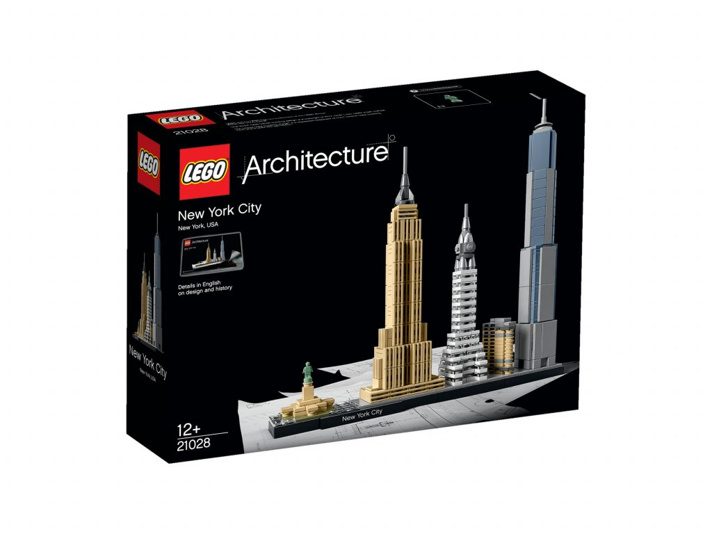 21028 LEGO Architecture New York city krabica predok