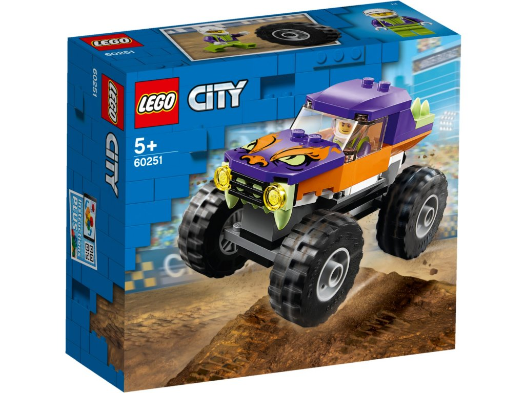 LEGO City 60251 Monster truck krabica predok