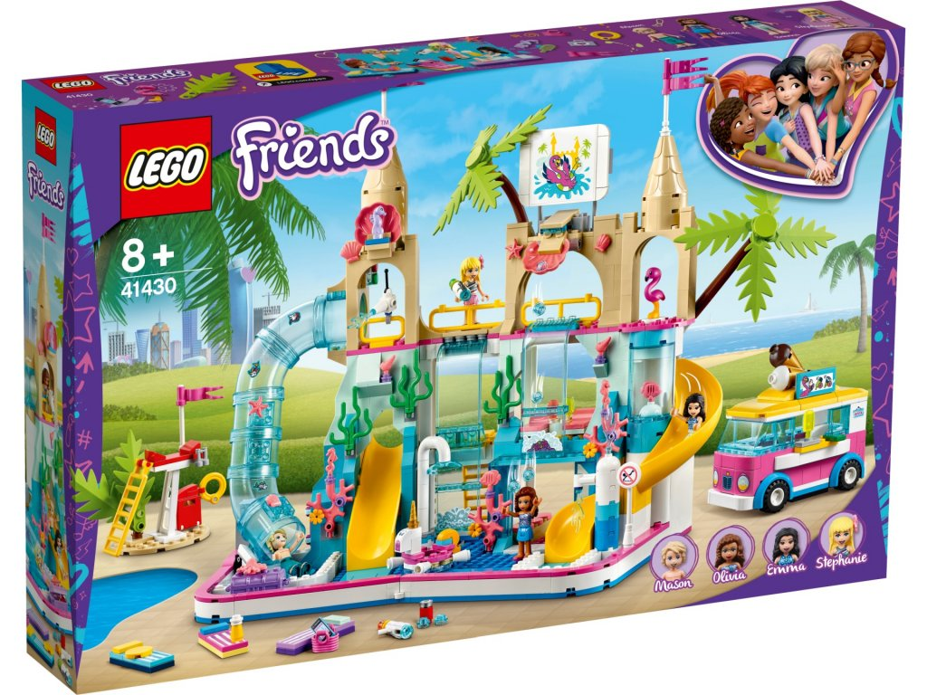 LEGO Friends 41430 Aquapark krabica predok