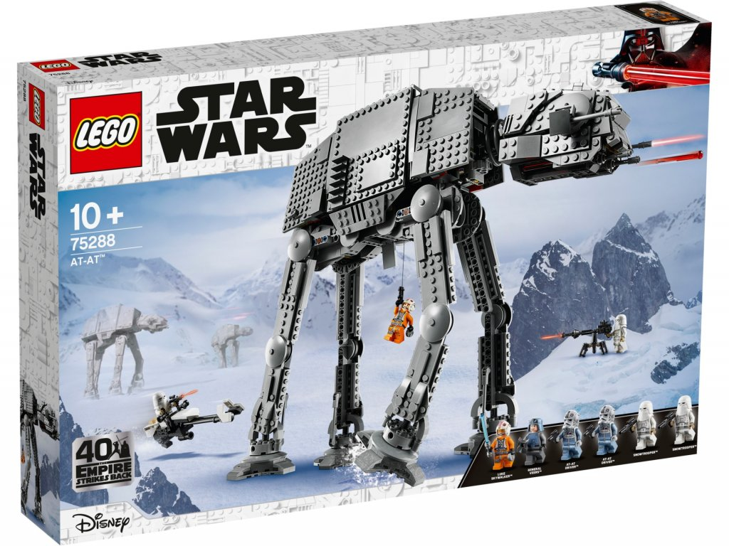 LEGO Star Wars 75288 AT AT krabica predok