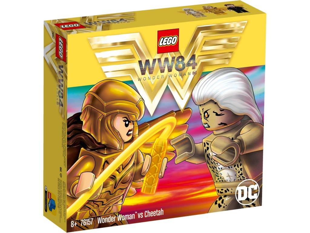 LEGO Super Heroes 76157 Wonder Woman vs Cheetah krabica predok
