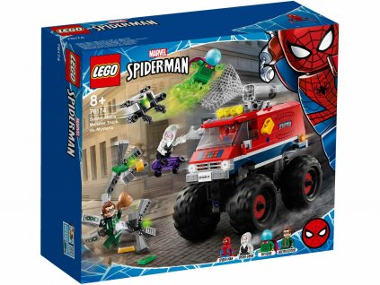 LEGO Marvel Super Heroes 76174 Spider Man v monster trucku vs Mysterio krabica predok