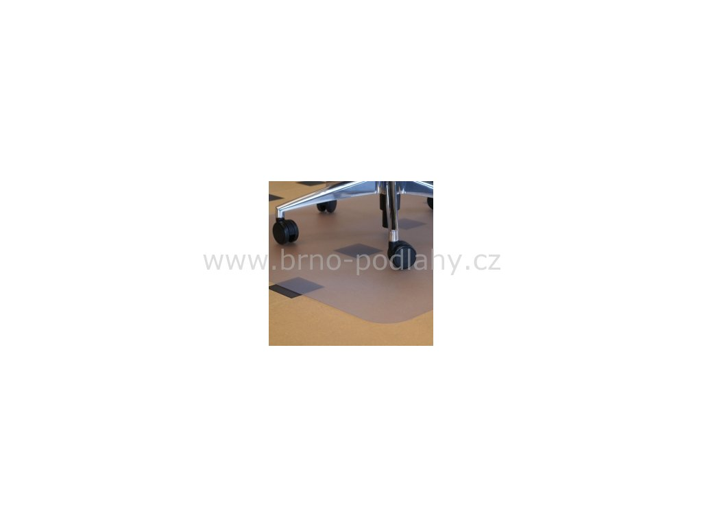 Podložka pod židle -  hladká 120 x 100 cm