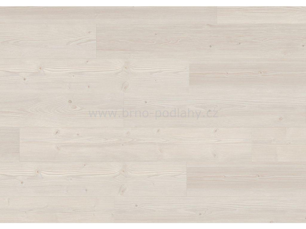 EGGER PRO Laminát Classic 32, 4-V spára, EPL028 Borovice Inverey bílá