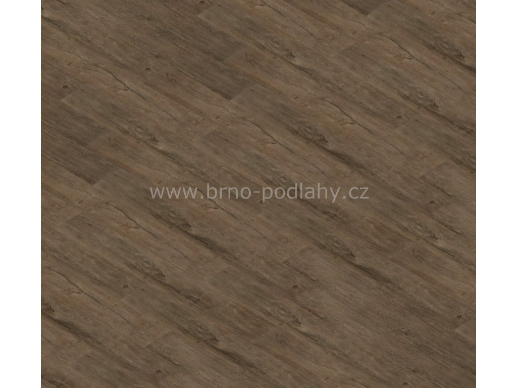 Thermofix Wood, tl. 2mm, 12156-1 Dub půlnoční - lepená vinylová podlaha