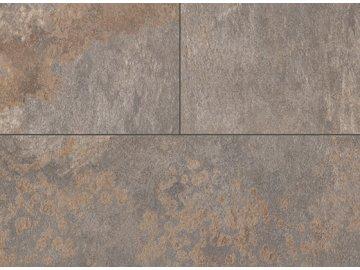 EGGER Flooring Kingsize 32, spára 4+1-V, Diamantová břidlice hnědá F256