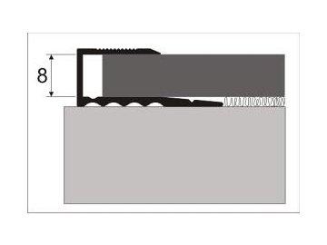 Zásuvný profil 8 mm pro laminát