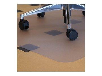 Podložka pod židle -  hladká 120 x 90 cm